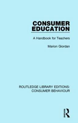 Consumer Education: A Handbook for Teachers