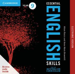 Essential English Skills for the Australian Curriculum Year 9 Electronic Version: A Multi-level Approach