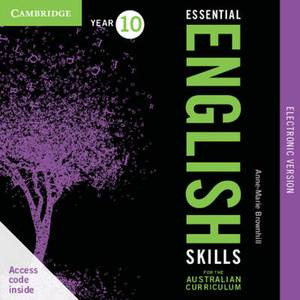 Essential English Skills for the Australian Curriculum Year 8 Electronic Version: A Multi-level Approach
