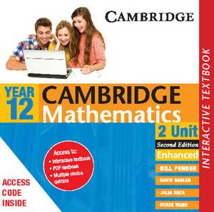 Cambridge 2 Unit Mathematics Year 12 Interactve Textbook