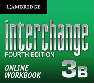 Interchange Level 3 Online Workbook B (standalone for Students)