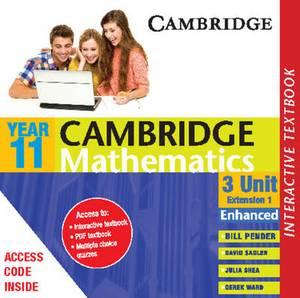 Cambridge 3 Unit Mathematics Year 11 Enhanced Version Interactive Textbook