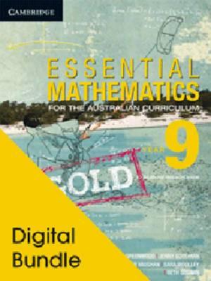 Essential Mathematics Gold for the Australian Curriculum Year 9 Digital and Cambridge HOTmaths