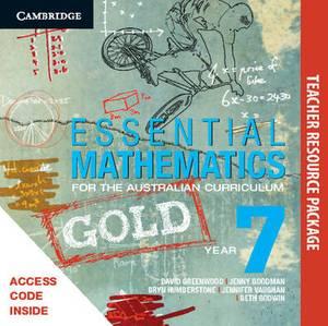 Essential Mathematics Gold for the Australian Curriculum Year 7 Teacher Resource Package