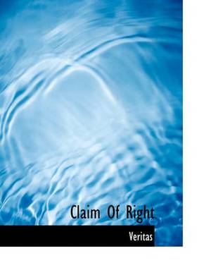 Claim of Right
