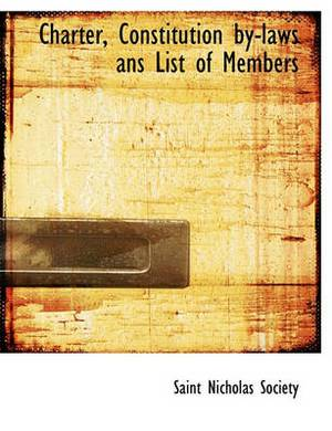 Charter, Constitution By-Laws ANS List of Members
