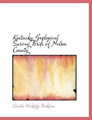 Kentucky Geological Survey Brids of Nelson County