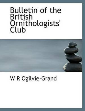 Bulletin of the British Ornithologists' Club