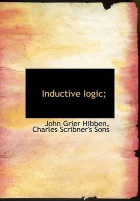 Inductive Iogic;