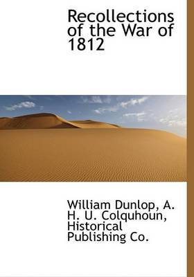 Recollections of the War of 1812