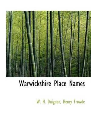 Warwickshire Place Names