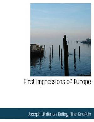 First Impressions of Europe