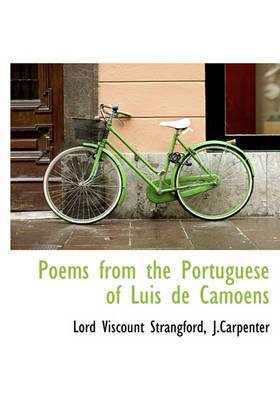 Poems from the Portuguese of Luis de Camoens