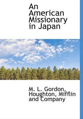 An American Missionary in Japan