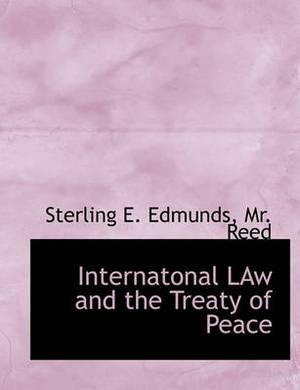 Internatonal Law and the Treaty of Peace
