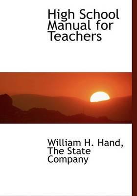 High School Manual for Teachers