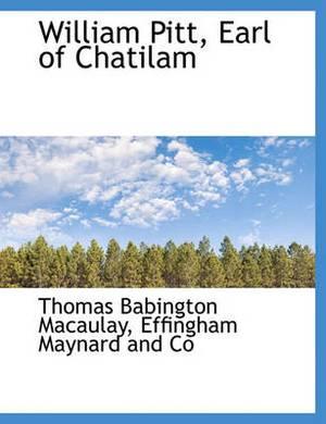 William Pitt, Earl of Chatilam