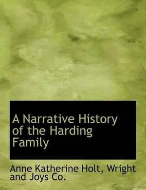 A Narrative History of the Harding Family