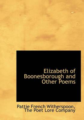 Elizabeth of Boonesborough and Other Poems