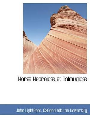 Hor Hebraic Et Talmudic