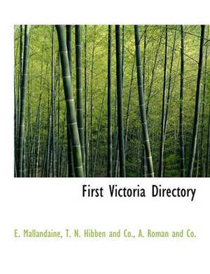 First Victoria Directory