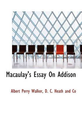 Macaulay's Essay on Addison