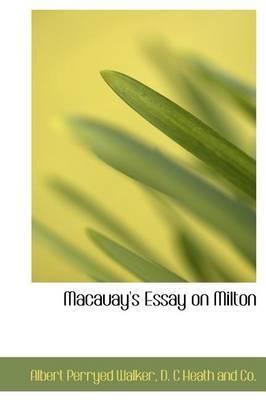 Macauay's Essay on Milton