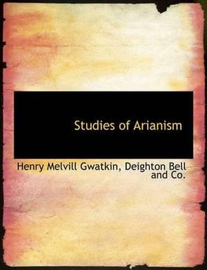 Studies of Arianism