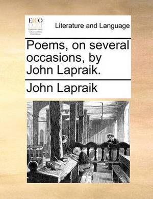 Poems, on Several Occasions, by John Lapraik.