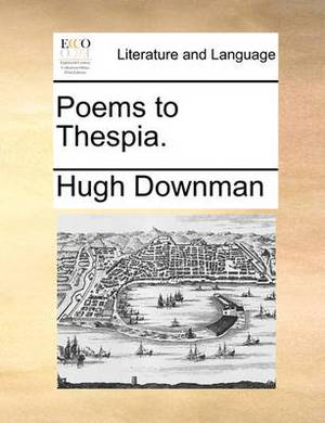 Poems to Thespia.