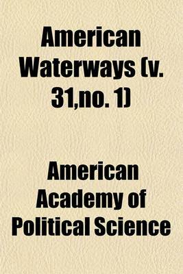 American Waterways (V. 31, No. 1)