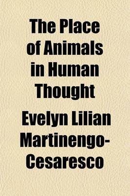 The Place of Animals in Human Thought