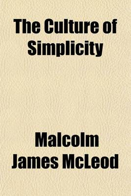 The Culture of Simplicity