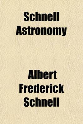 Schnell Astronomy