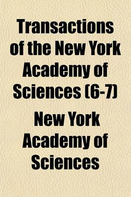 Transactions of the New York Academy of Sciences (6-7)