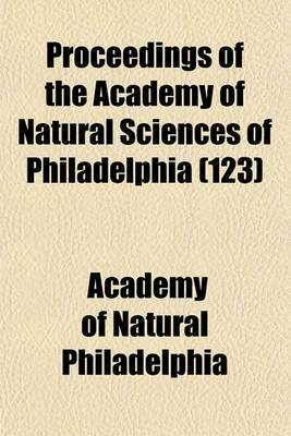Proceedings of the Academy of Natural Sciences of Philadelphia (123)