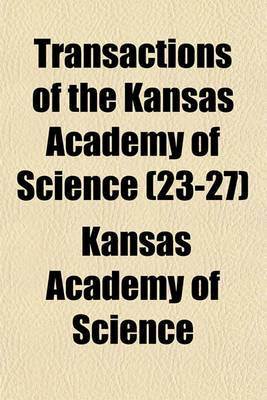 Transactions of the Kansas Academy of Science (23-27)