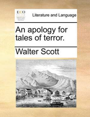 An Apology for Tales of Terror.