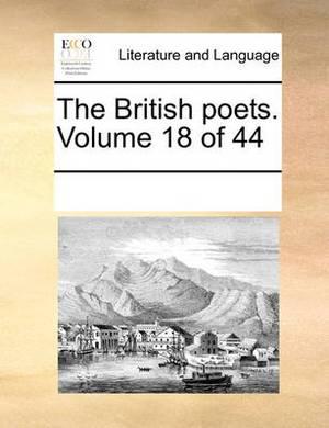 The British Poets. Volume 18 of 44