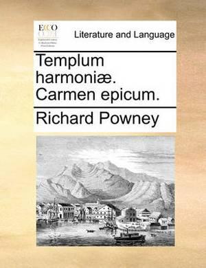 Templum Harmoni. Carmen Epicum.
