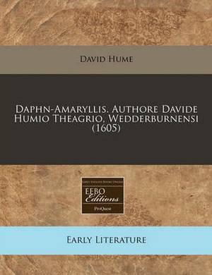 Daphn-Amaryllis. Authore Davide Humio Theagrio, Wedderburnensi (1605)