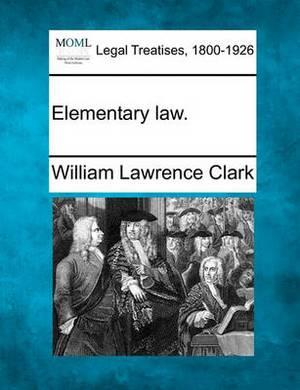 Elementary Law.