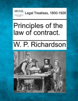 Principles of the Law of Contract.
