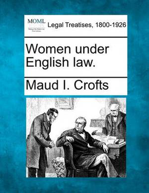 Women Under English Law.
