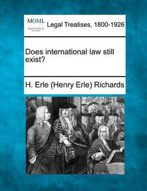 Does International Law Still Exist?