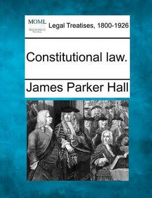 Constitutional Law.