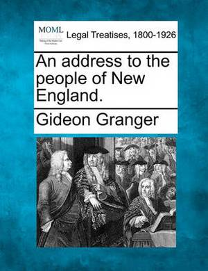 An Address to the People of New England.