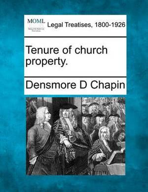 Tenure of Church Property.
