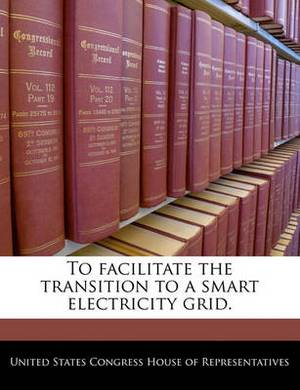 To Facilitate the Transition to a Smart Electricity Grid.