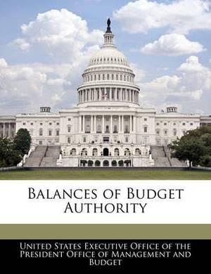Balances of Budget Authority